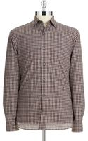 Michael Kors Checkered Sport Shirt - Lyst