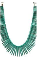 Kenneth Jay Lane Stick Gold Clasp Necklace - Lyst