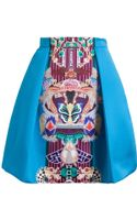 Mary Katrantzou Totem Print Pleated Skirt - Lyst