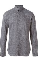 PS by Paul Smith Fine Print Shirt - Lyst