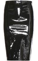 Stouls Gilda Patent Leather Pencil Skirt - Lyst