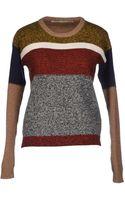 M. Grifoni Denim Sweater - Lyst