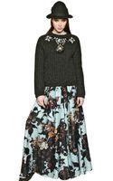 Antonio Marras Crystal Embellished Wool Sweater - Lyst