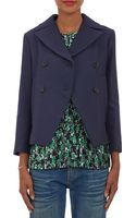 Marni Doublebreasted Cropped Jacket - Lyst