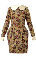 Stella Jean Pamela Printed Cotton Dress - Lyst