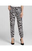 MICHAEL Michael Kors Snow Leopard Print Pants - Lyst