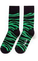 Happy Socks Zebra Socks - Lyst