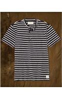 Denim & Supply Ralph Lauren Striped Henley Tshirt - Lyst