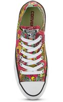 Converse Chuck Taylor All Star Feather Skull Ox Trainers - Lyst