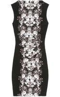 Nicole Miller Quinn Ghost Flower Dress - Lyst