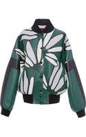Marni Nappa Stone Candlestick Leather Jacket - Lyst