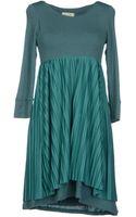 Niu Short Dress - Lyst