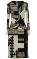 Etro Mid Length Dress - Lyst