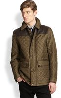 Burberry London Highgrove Quilted Jacket - Lyst