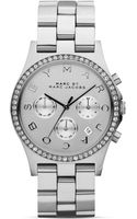 Marc By Marc Jacobs Henry Glitz Stainless Steel Watch 40mm - Lyst