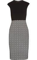 Alexander McQueen Stretch-knit Dress - Lyst