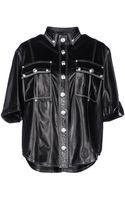 Balmain Short Sleeve Shirt - Lyst