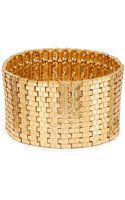 Saks Fifth Avenue Brick Link Stretch Bracelet - Lyst