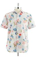 Tommy Bahama Bolina Point Print Buttondown Shirt - Lyst