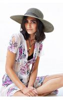 Urban Outfitters Corded Widebrim Straw Hat - Lyst