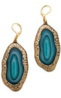 Kenneth Jay Lane Natural Crystal Earrings - Lyst