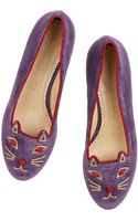 Charlotte Olympia Knot A Kitty - Lyst