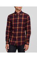 Gant Rugger Winter Madras Sport Shirt Slim Fit - Lyst