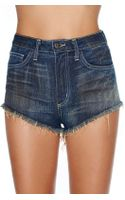 Nasty Gal In The West Cutoff Shorts - Lyst