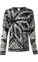Vivienne Westwood Cathedral Sweater Top - Lyst