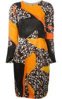 Acne Studios Printed Dress - Lyst