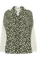 Stella McCartney Printed Silk Shirt - Lyst
