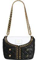 Moschino Matelassé Leather Medium Bag - Lyst