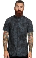 RVCA Thatll Do Tye Dye Ss Woven Shirt - Lyst
