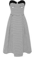 Nicholas Breton Stripe Ball Dress - Lyst