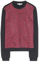 Carven Lace Sweater - Lyst