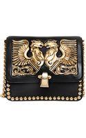 Roberto Cavalli Hera Nappa Leather Shoulder Bag - Lyst