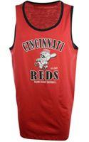 47 Brand Mens Cincinnati Reds Tilldawn Tank - Lyst