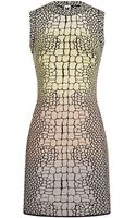 M Missoni Jacquard Croc Bodycon Dress - Lyst