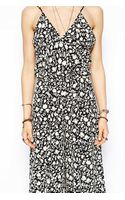 Flynn Skye Dressy Jumpsuit in Shadow Flower Print - Lyst