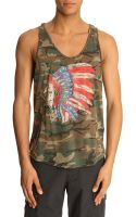 Denim & Supply Ralph Lauren Camo Eagle Tank Top - Lyst