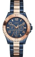 Guess Stainless Steel Watch Blue - Lyst