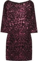 Just Cavalli Embellished Jersey Mini Dress - Lyst