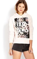 Forever 21 Bow Down Hoodie - Lyst
