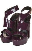 Topshop Lilo Patent Platform Sandals - Lyst