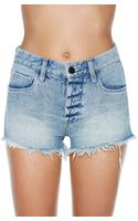 Nasty Gal Blank Nyc Chip Tease Cutoff Shorts - Lyst