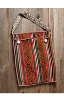 Free People Vintage Oversized Woven Bag - Lyst