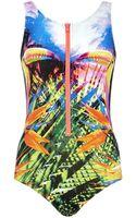 Seafolly Oasis Tank Swimsuit - Lyst