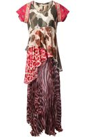 Wunderkind Animal Print Maxi Dress - Lyst