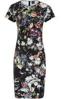 McQ by Alexander McQueen Festival Floral Jersey Dress - Lyst