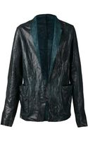 Ma+ Leather Jacket - Lyst